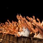 Fanii sunt nerăbdători ca Festivalul Peninsula să înceapă. (c) Peninsula