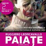 """""""Paiaţe"""" de Ruggiero Leoncavallo, astăzi la Opera Română"""