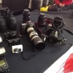 Echipamente fotografice și imagini de colecție,  la expoziția temporară de istorie a fotografiei