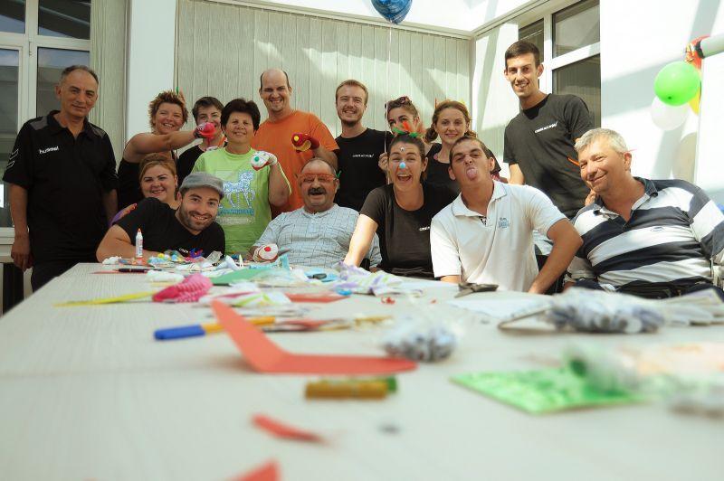 """""""Terapia prin artă"""", proiect de succes al companiei Create.act.enjoy la Spitalul de Recuperare"""