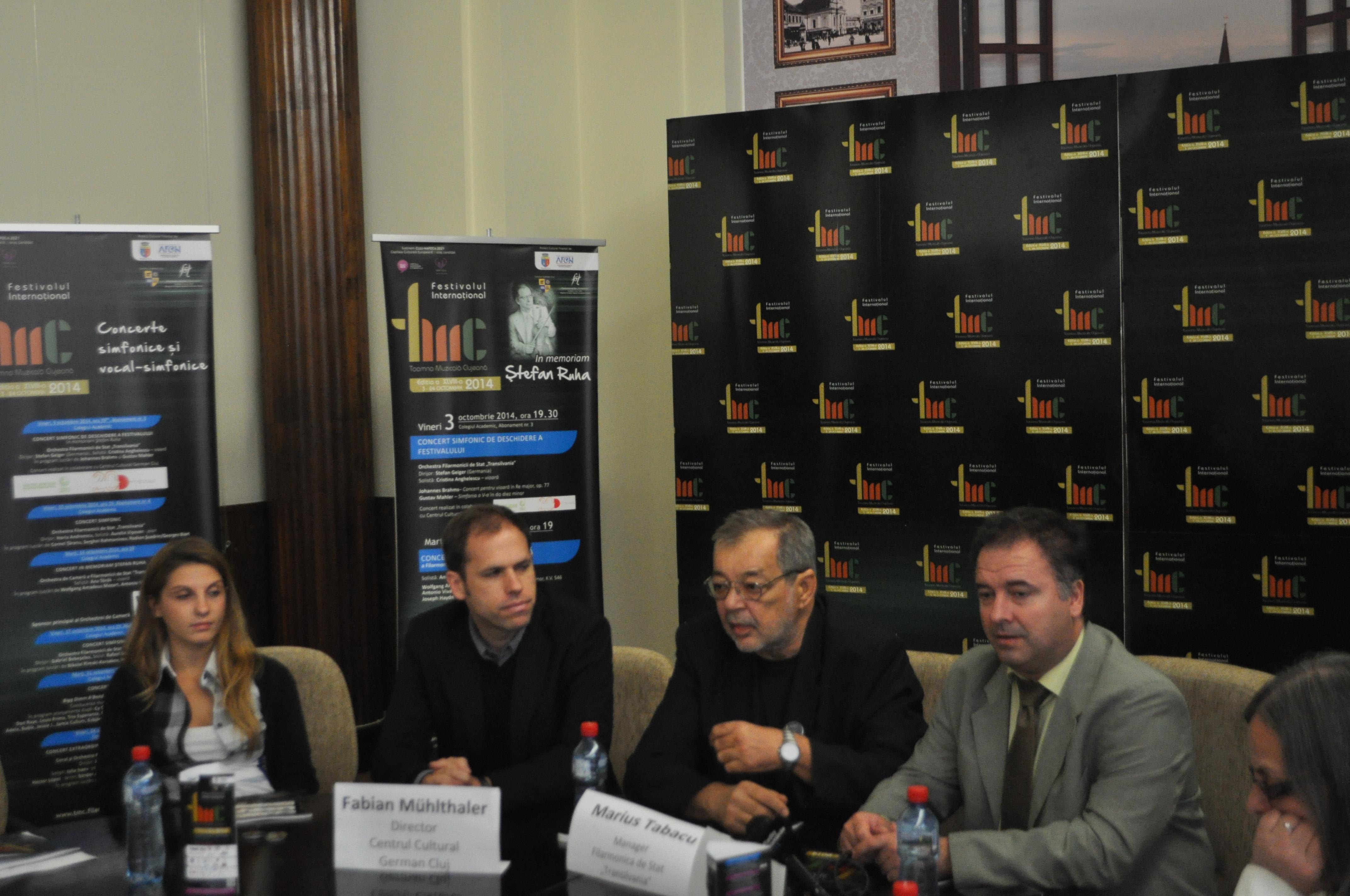 Festivalul Toamna Muzicală Clujeană debutează al doilea an consecutiv fără dirijor permanent