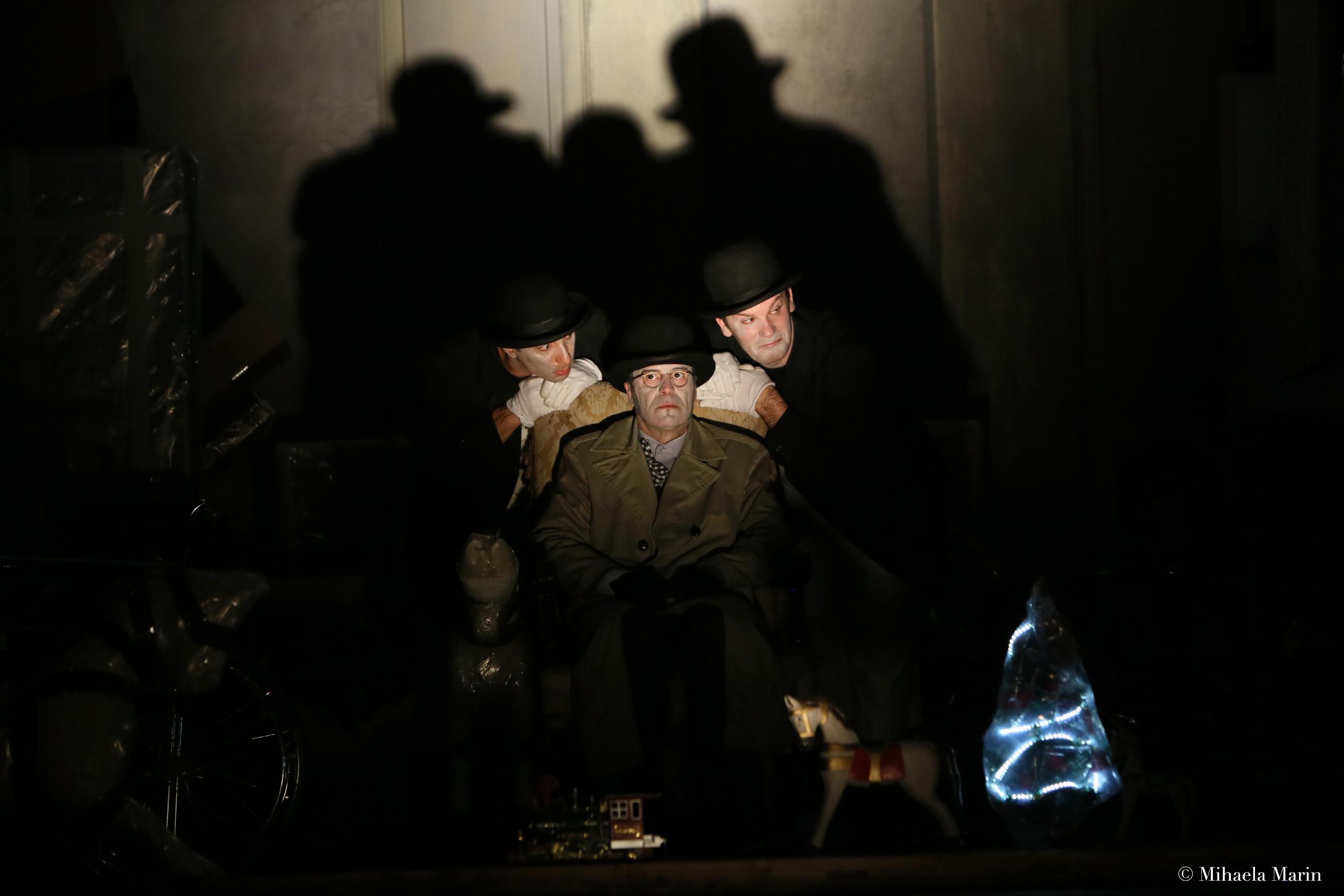 Noul Locatar de Eugen Ionescu in regia lui Tompa Gabor, atracţia zilei la INTERFERENŢE 2014