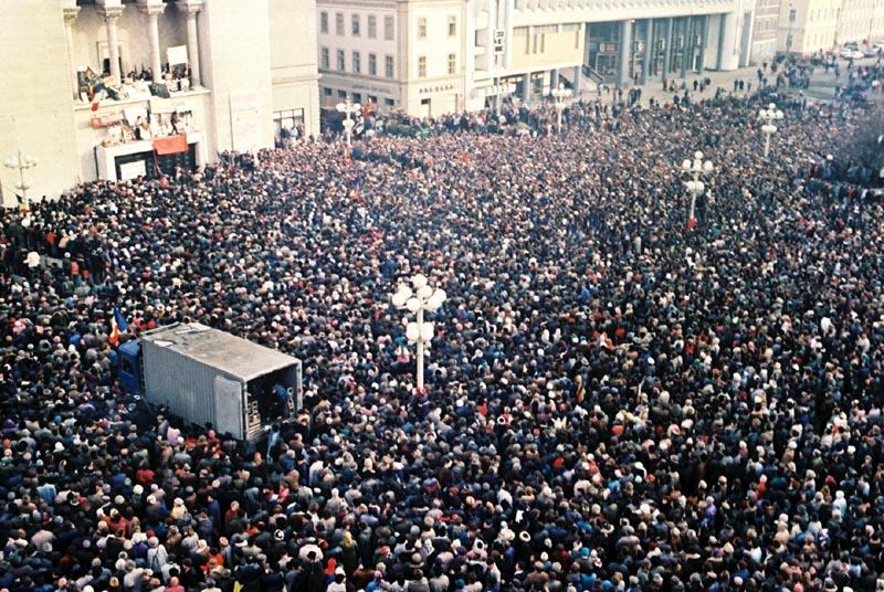 Performance UNIC dedicat Revoluţiei clujene din 1989