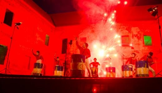 FOTO/VIDEO TIFF la Bonțida: spectacol de lumini și un film puternic despre culisele circului