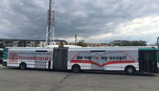 PREMIERĂ! Autobuzul care aduce lectura la Cluj!