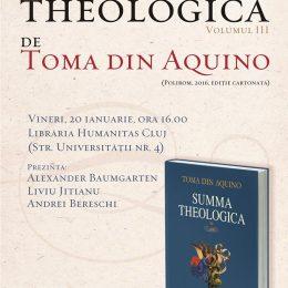 Summa Theologica, lucrare fundamentală a filosofiei medievale, lansată la Humanitas