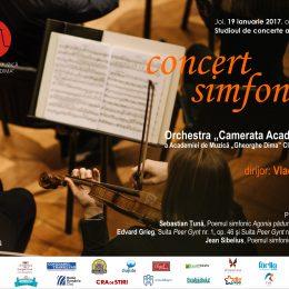 Concert simfonic al orchestrei Camerata Academica cu premieră muzicală absolută, Agonia Pădurilor