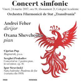 Concert simfonic dirijat de Andrei Feher