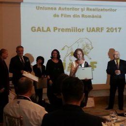 Criticul de film clujean Ioan Pavel-Azap și editorul Nadia Baciu, premiați la gala UARF