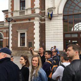 Istoria Gării și a străzii Horea, povestite atractiv în cadrul unui nou tur al Asociației Vechiul Cluj