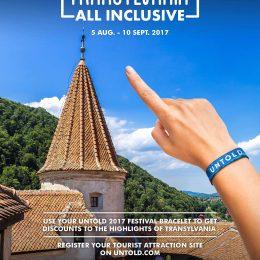 "Untold continuă campania ""Transilvania all inclusive"""