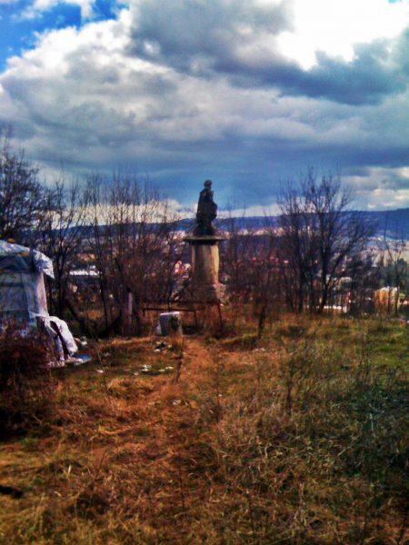 Statuia lui Donath veghează asupra  Clujului