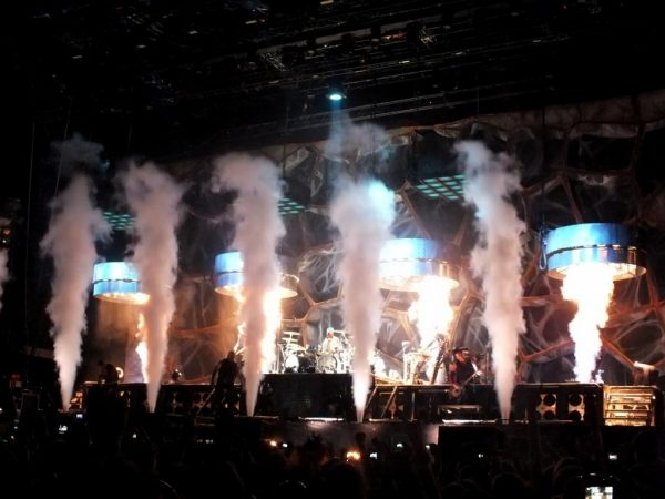 Showul spectaculos al germanilor de la Rammstein