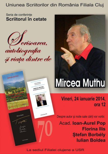 Afis Conferinta Mircea Muthu mc