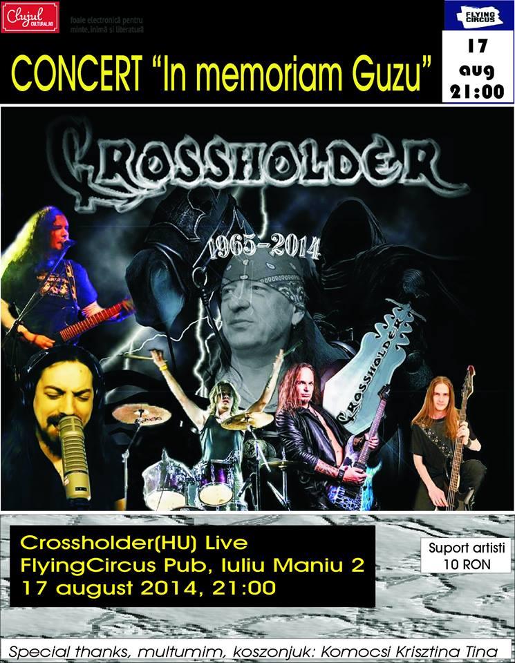 Afis concert Crossholder