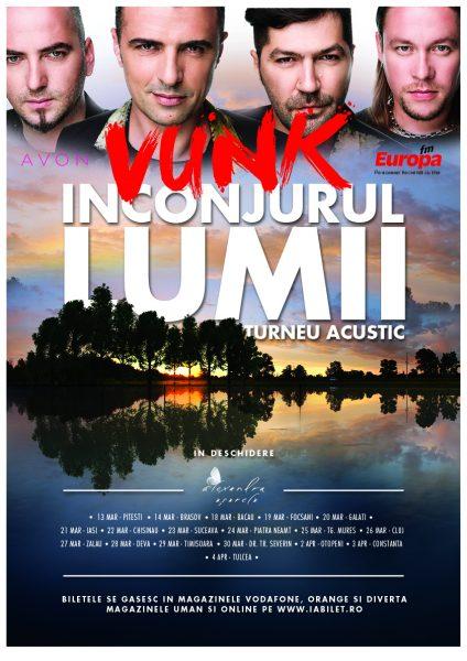 VUNK- turneu acustic