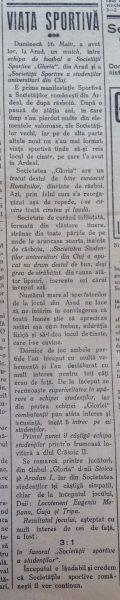 Gloria Arad-U Cluj cronica