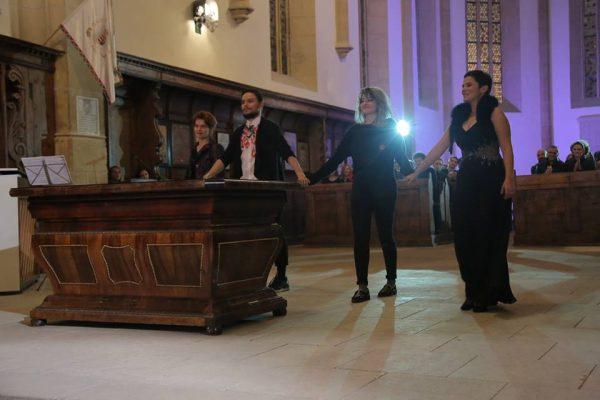 de la stanga: Adela Bihari, Ovidiu Pop, Irina Voinea, Simona Baltog