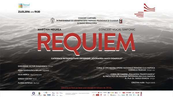 REQUIEM, Concert-eveniment,23martie