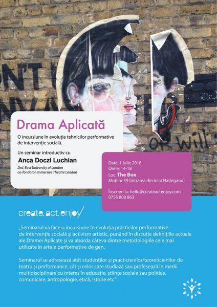 Drama Aplicat__ - 1 iulie